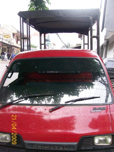 Pemasangan Riging mobil (1)