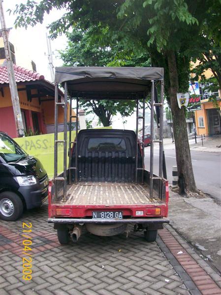 Pemasangan Riging mobil (2)