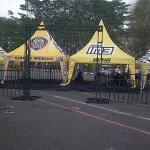 event olahraga indosat m3 zone aremania (2)