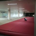 karpet panggung komisi yudisial