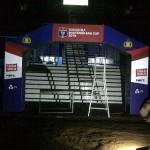 Gate Semifinal piala bhayangkara 2016 di Malang