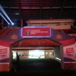 Gate depan Event Ceremony piala bhayangkara di Bandung (5)