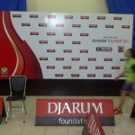 booth event djarum badminton pakisaji malang