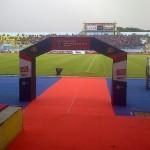 karpet merah Semifinal piala bhayangkara 2016 di Malang