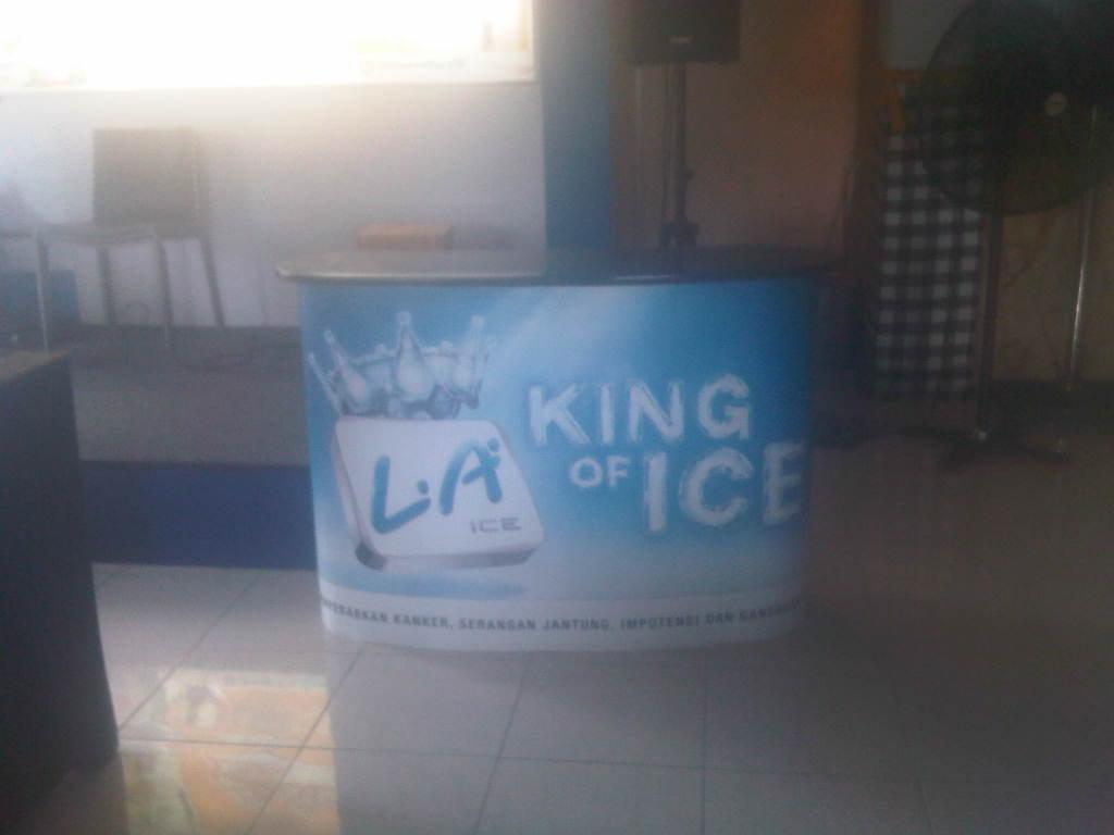 LA Ice event cheesseburry malang