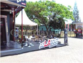 backdrop event all about lalights malang