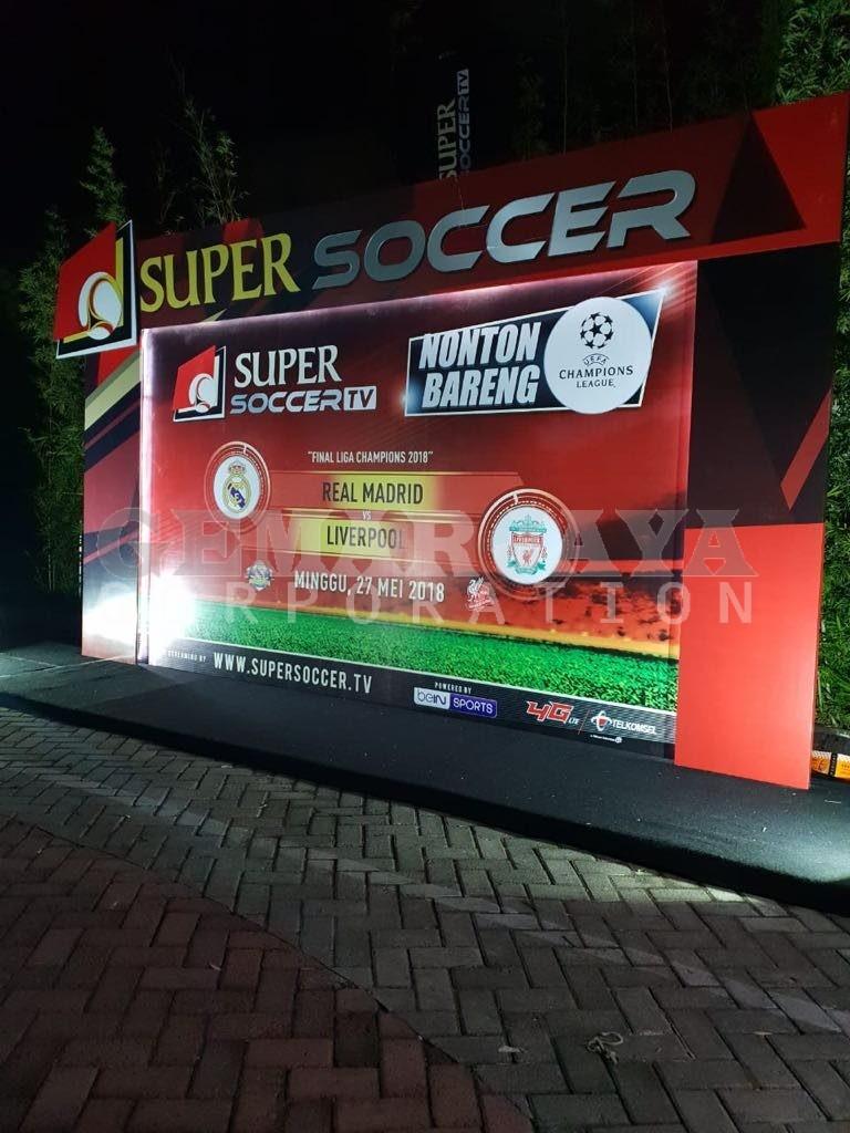 Nobar Super Soccer 2018